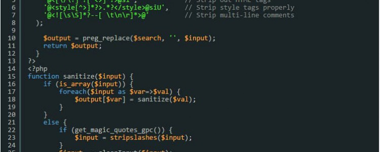 给上传到数据库的数据消毒脚本-清除恶意代码的PHP脚本