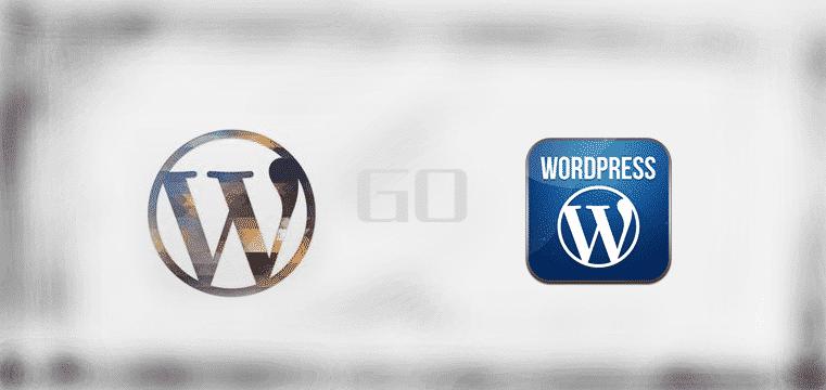 用手机安装了wordpress客户端